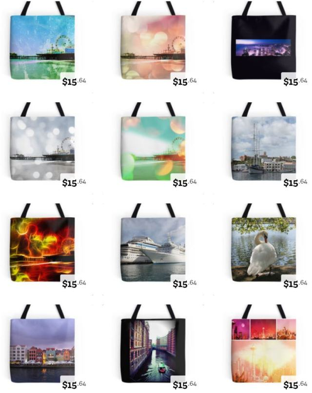RedBubble Tote Bags by stine1