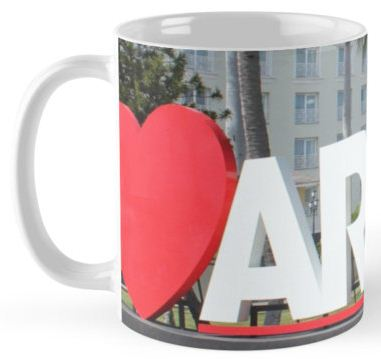 I love Aruba - One happy Island Mug