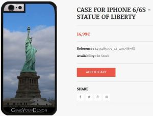 Case for Iphone 6/6S - Statue of Liberty
