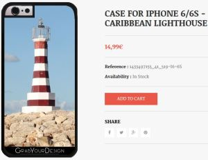 Case for Iphone 6/6S - Caribbean Lighthouse