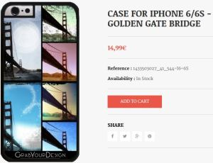 Case for Iphone 6/6S - Golden Gate Bridge - by Christine aka stine1 Case for Iphone 6/6S - Golden Gate Bridge