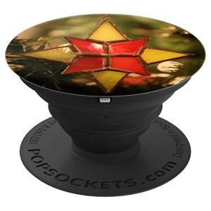 Vintage Christmas Star Ornament - PopSockets Grip and Stand for Phones and Tablets