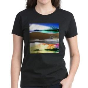 Santa Monica Pier Tricolor T-Shirt