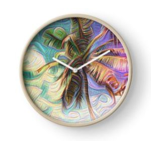 Inceptionist Palm Clock on Redbubble by Christine aka stine1