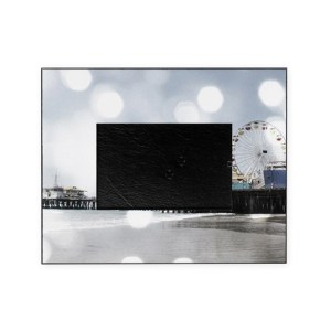 Grey Sparkling Pier Picture Frame