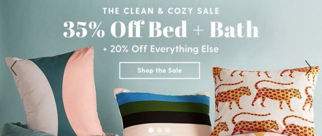 Clean and Cozy Sale