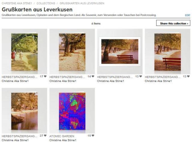 Grußkarten aus Leverkusen auf Society6