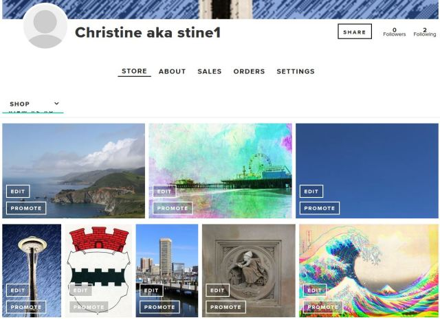 Christine aka stine1 on MiPic