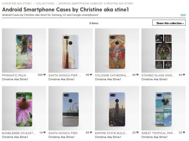 Android Smartphone Cases by Christine aka stine1