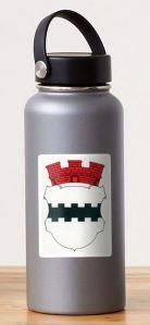 Opladen coat of arms - City of Opladen Leverkusen Sticker