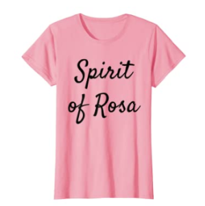 Womens Spirit of Rosa to remember Alabama 1955 T-Shirt